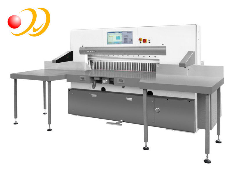 Hand Paper Cutting Machine , Automatic Paper Cutter Machine Programmable