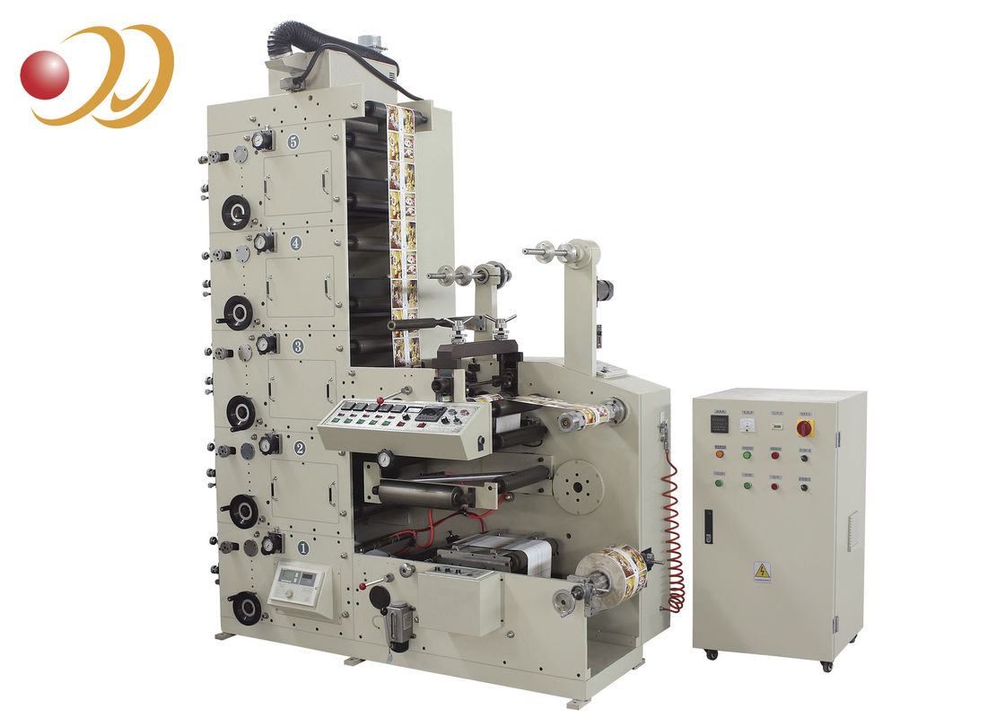 Multi - Color Flexo Graphic Printing  Machine For Auto Infrared Drying